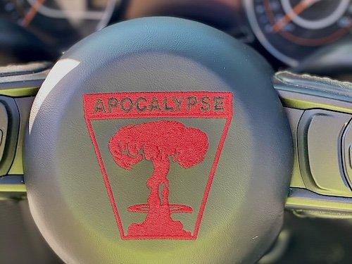 Apocalypse 6x6 Steering Wheel Detail